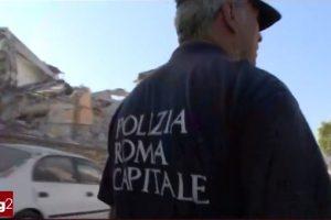 TERREMOTO NEL CENTRO ITALIA… LA POLIZIA LOCALE COME SEMPRE IN TRINCEA