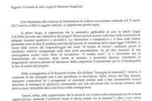 IL FILM 'IL MONDO DI MEZZO',… MA DI MEZZO C'E' SOLO UN FALSO STORICO !!!