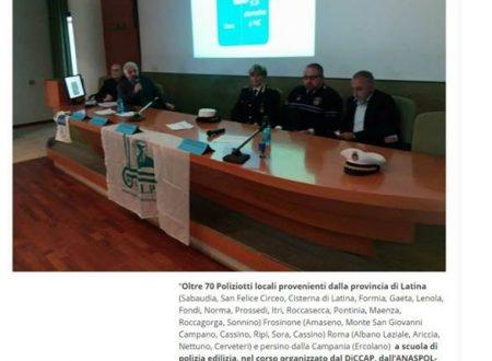 Corso di formazione a Sabaudia organizzato da Sulpl e Anaspol il 10/04/2018