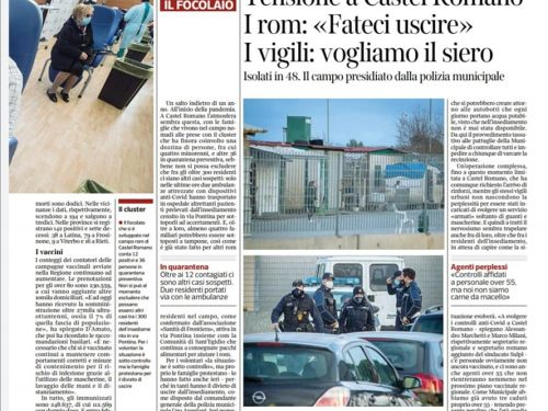 Roma: Polizia Locale senza vaccino