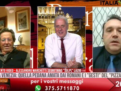 Torna la pedana a piazza Venezia, l'intervento del Sulpl a Roma di Sera su SuperNova