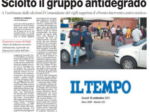 Roma: Smantellato il PICS, basta con scelte estemporanee a pochi giorni dalle elezioni